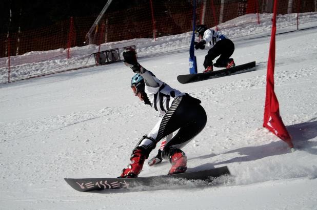 Snowboard Parallel Special Slalom