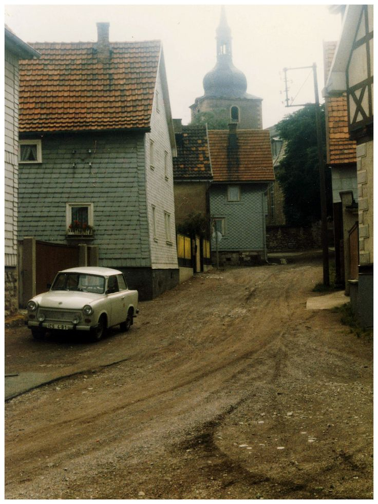 Village of Crawinkel, East Germany, July 1986