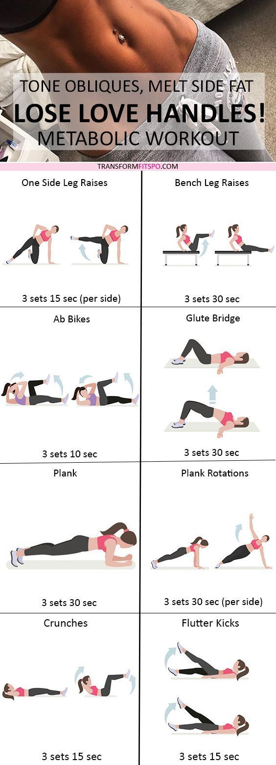 Repin and share if this workout got you in crazy shape! Read the post for all the descriptions!