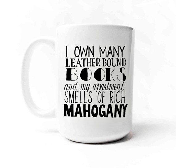 Ron Burgundy  Anchorman  Quote  Mug by gnarlyink on Etsy, $16.99
