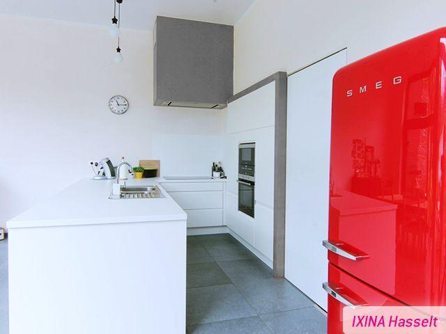 Keukens Ixina Borsbeek : 17 Best images about Cuisine blanche Witte keuken on