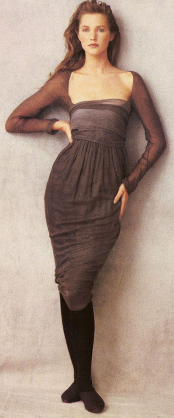 1990s Romeo Gigli dress, Cecilia Chancellor