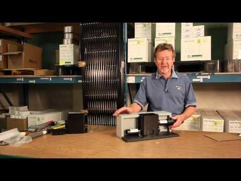 Concrete Gas Plug Installation - YouTube