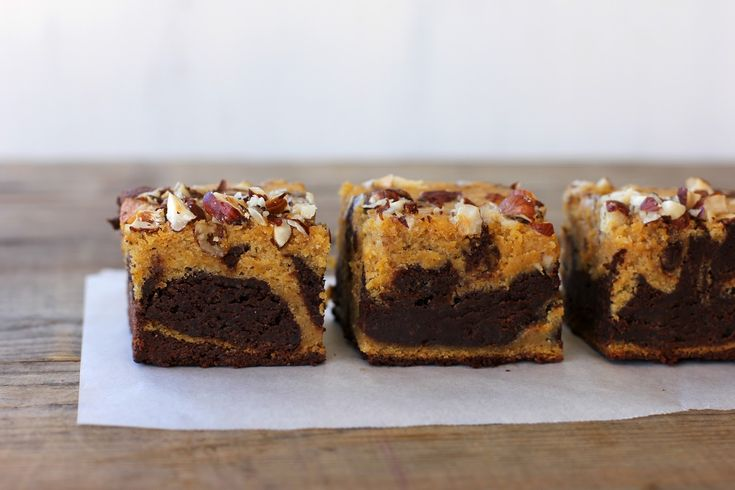 my darling lemon thyme: spiced pumpkin chocolate brownie recipe (gluten + lactose-free)