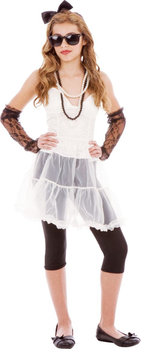 Teen Girls 80's Rock Star Costume - Party City