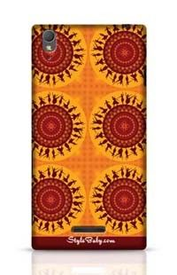 Illustration Of Indian Classical Dancer Sony Xperia T3 Phone Case