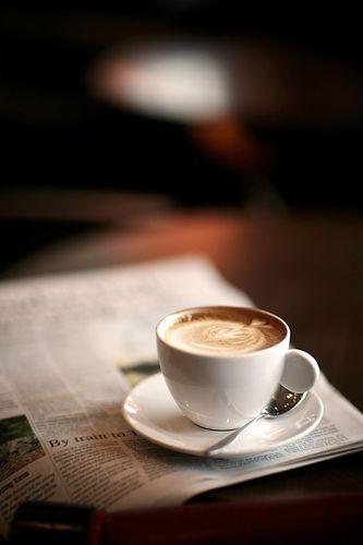 Lucaff� Total White espressokop en schotel wit 2-delig