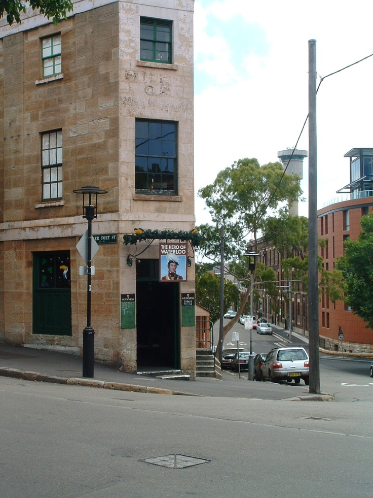 The Hero of Waterloo Pub, The Rocks, Sydney Australia.