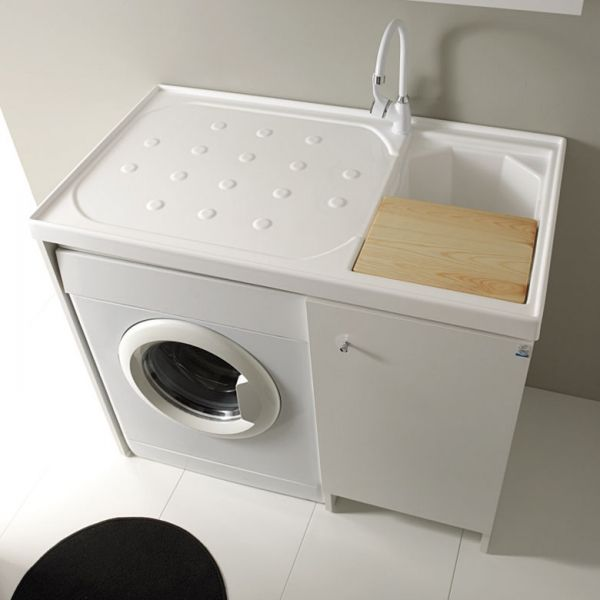Oltre 25 fantastiche idee su bagno ikea su pinterest - Ikea mobile lavanderia ...