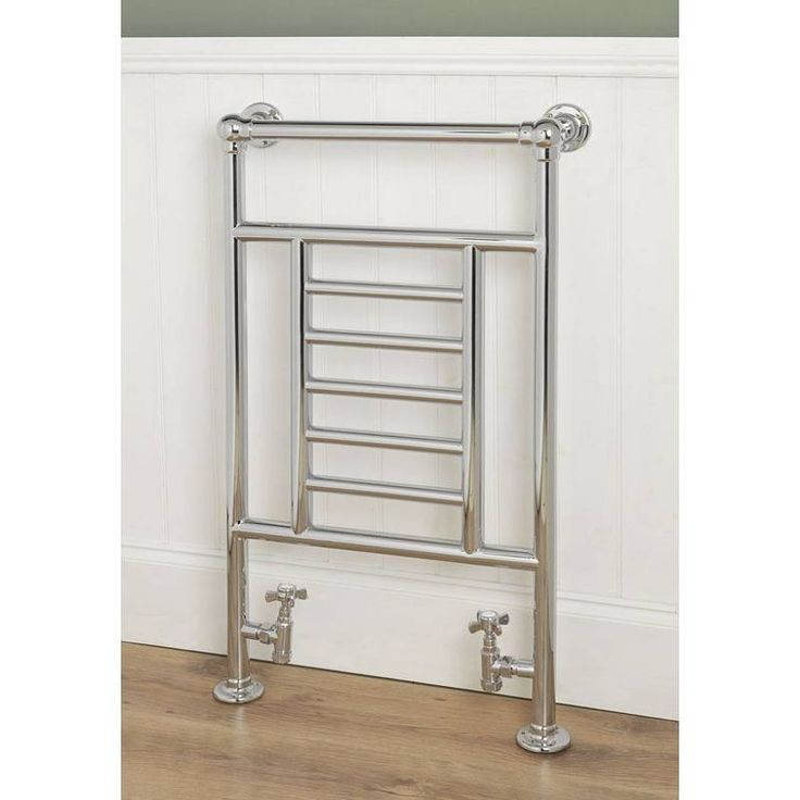 The Buckingham Heated Towel Rail will look stunning in a traditional style bathroom. With plenty of charm and detail in the design, it will lend itself to many traditional bathroom suites available at VictoriaPlum.com such as the Camberley bathroom suite and the Winchester bathroom suite. Finish off with a pair of traditional radiator tap valves for a consistent look in your traditional bathroom. - £249