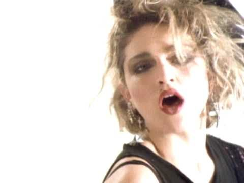 "MADONNA / LUCKY STAR (1984) -- Check out the ""I ♥♥♥ the 80s!!"" YouTube Playlist --> http://www.youtube.com/playlist?list=PLBADA73C441065BD6 #1980s #80s"