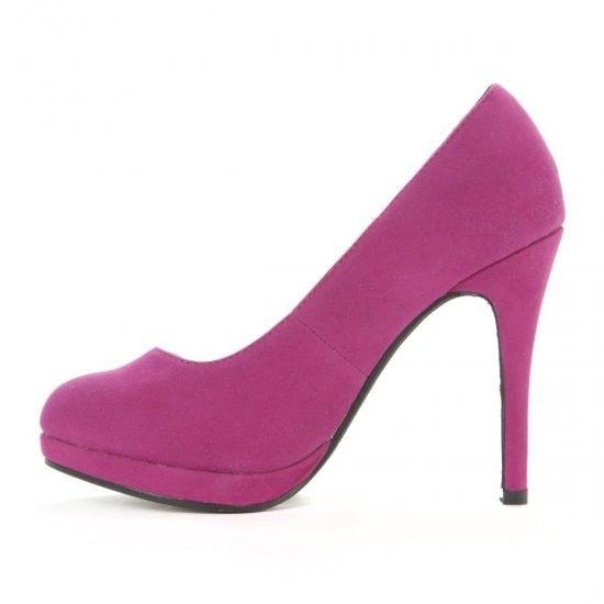 Pantofi cu platforma din suedin