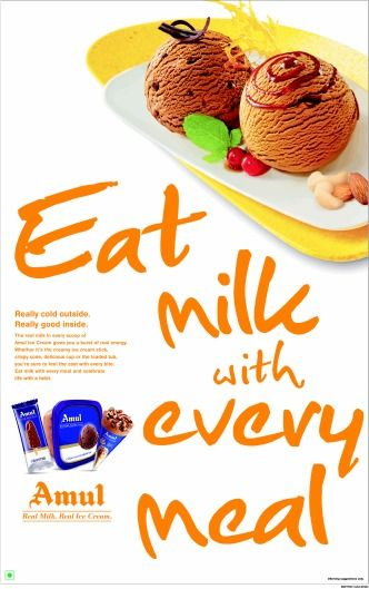 Eat Milk with Every Meal , FCB Ulka Advertising, Ice Cream/frozen Desserts