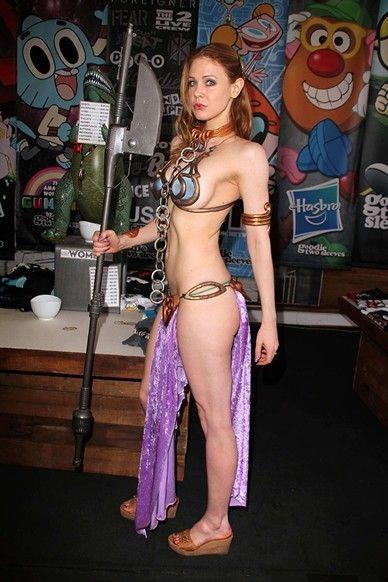Maitland ward princess leia photoshoot at meltdown comics more