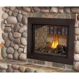 Napoleon Ascent Clear Face See Thru Logs Direct Vent Natural Gas Fireplace Direct Vent Fireplaces