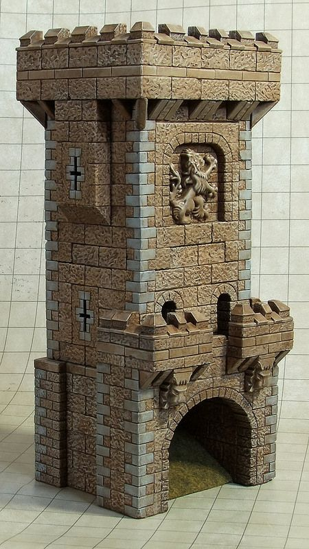 Castle Dice Tower Front | par Vail Marston