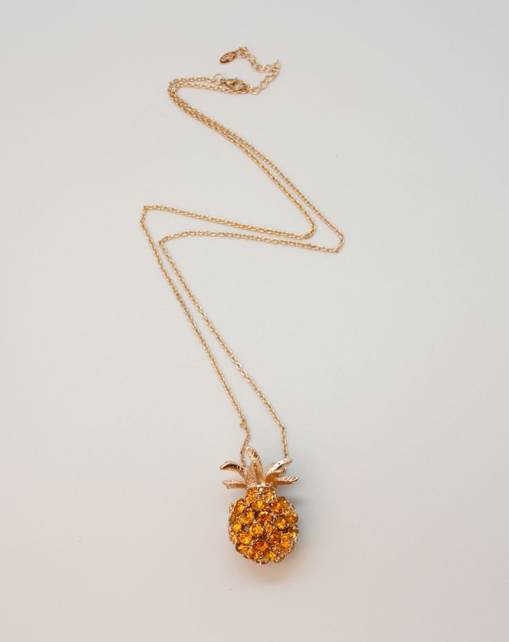 Fruit Necklace - Pineapple