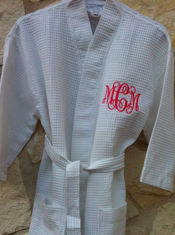 Monogrammed Robe by ShopEllieBelle on Etsy