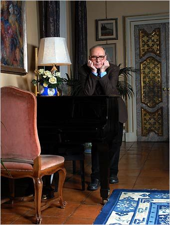 Composer Ennio Morricone (The Good, the Bad and the Ugly, Legend of 1900, Various Tarantino films)