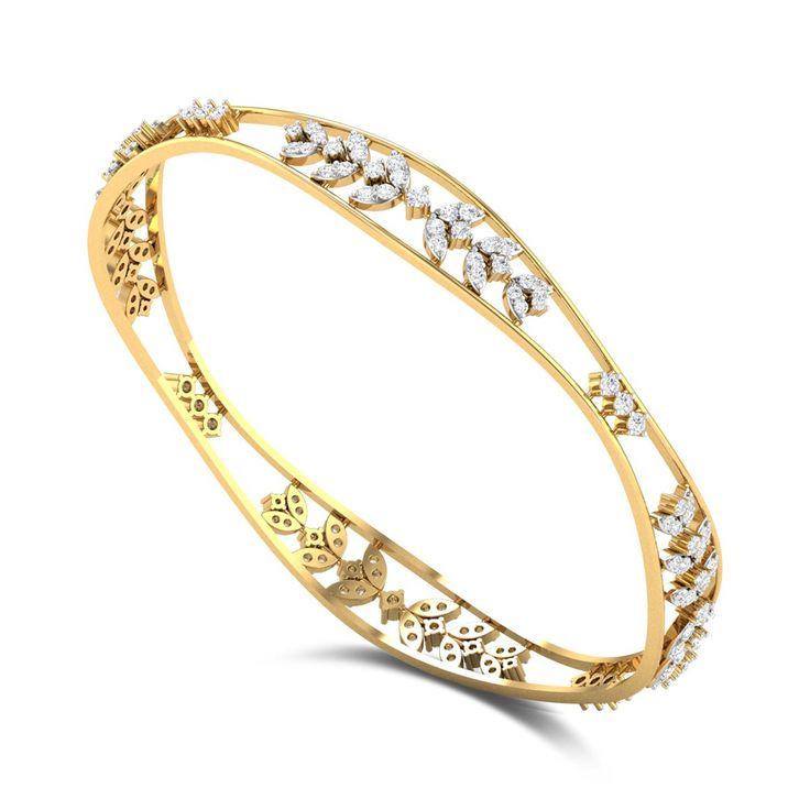 Madan Mogra Diamond Bangle DJBB5107