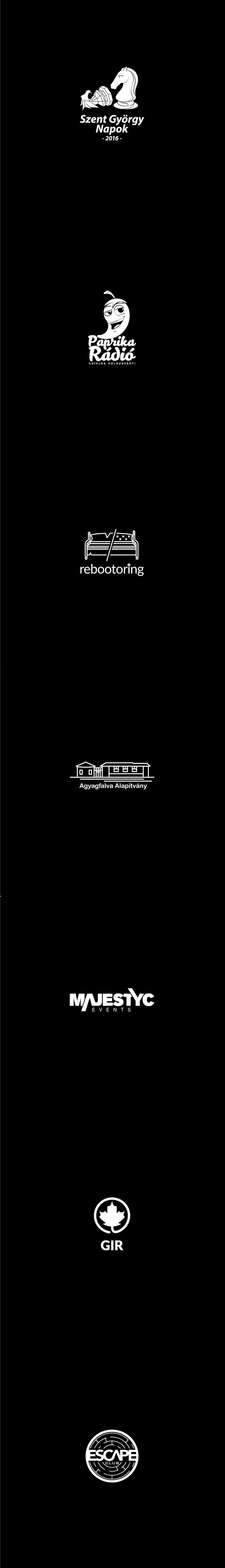 2016 logo showreel #logo #design #showreel #2016 #blackandwhite #black #white