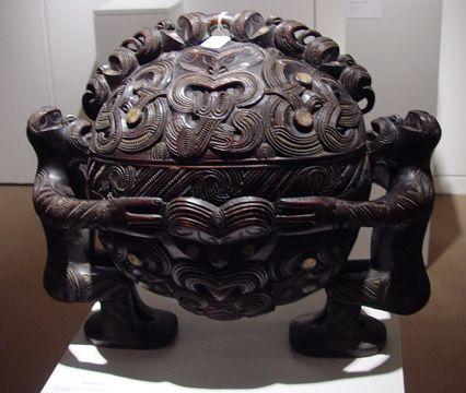maori Wakahuia or bowl