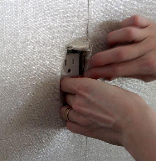 diy upholstered walls via design sponge