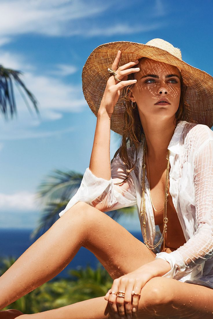 Model: Cara Delevingne   Photographer: Sebastian Faena
