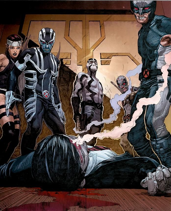 Fantomex (and Uncanny X-Force) by Jerome Opena