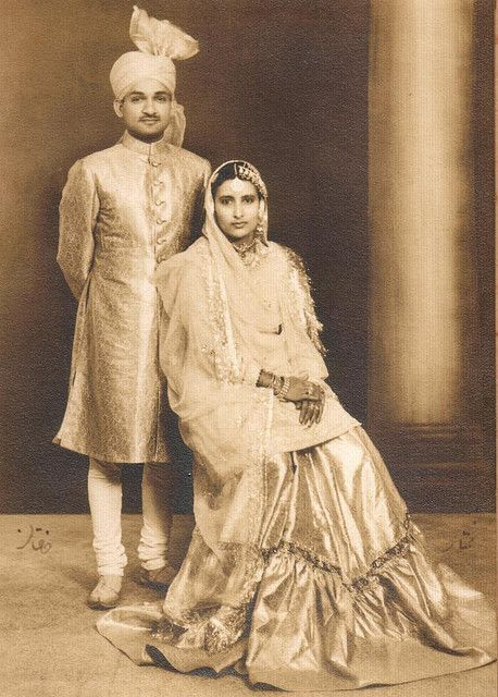 Glory of Yesteryears; Grandparents. #classic bollywood #vintage indian inspiration black and white image