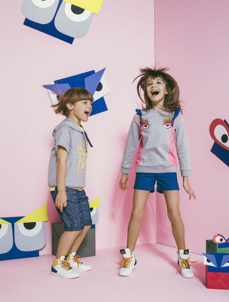 251 best Fendi Kids images on Pinterest