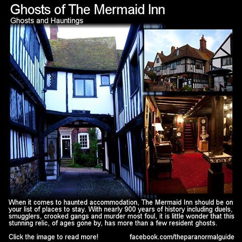Ghosts Of The Mermaid Inn Before Visiting Any Haunted House Be Sure To Look