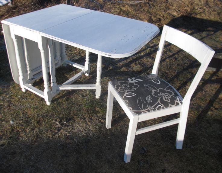 Bord och stol