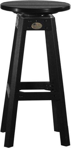Poly Bar Stool $175.00 - This swivel top stool can easily be the star attraction when you have some guests over to your place. Extremely comfortable and durable, this stool is best paired with a pub table or an outdoor poly bar. Meticulously designed and crafted by the famed Amish craftsmen in USA, this stool would be a perfect addition to your furniture set. Resistant to any attacks by termite or insects, this piece of furniture is way ahead of its time.