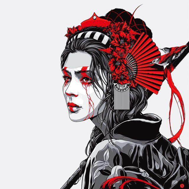 10 Amazing Drawing Hairstyles For Characters Ideas In 2020 Geisha Art Samurai Art Japanese Tattoo Art