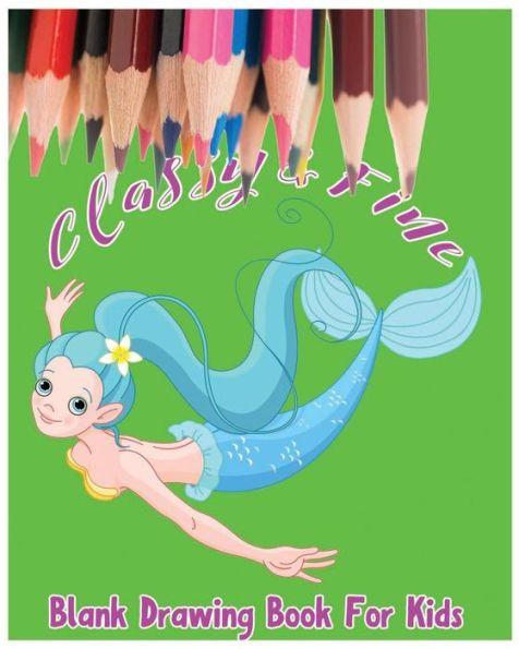 classy fine blank drawing book for kids kids drawing book large 8 x - Drawing Book For Kids