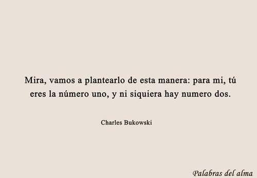charles bukowski frases español tumblr - Buscar con Google