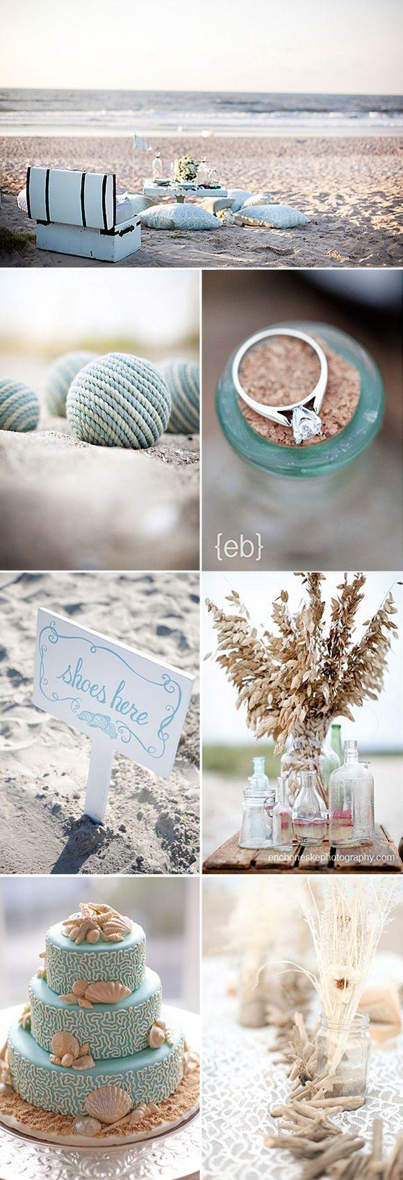 Relaxt picknicken op het strand. Misschien trouw je ook met je voeten in het zand?