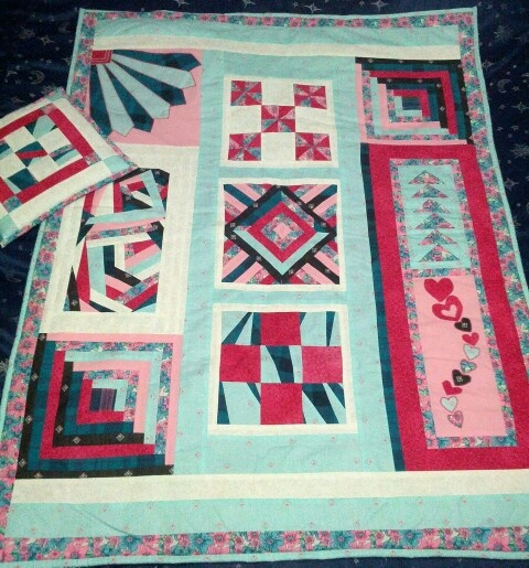 My latest quilt creation for sale via Nanna's Touch facebook link