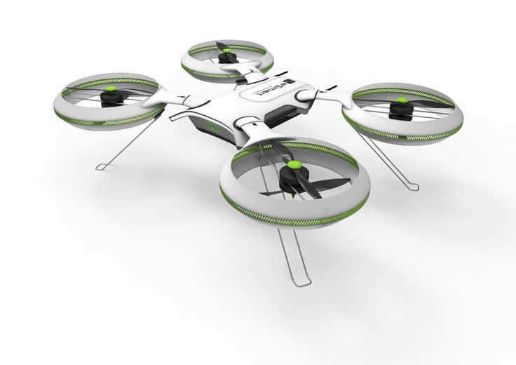 eSmart Connected Drone, designed in Siemens NX by Snø Designstudio.