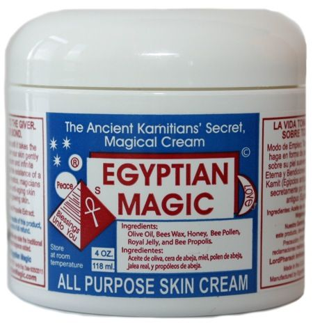 Egyptian Magic hedder den og tryller tilsyneladende både med hud og hår.