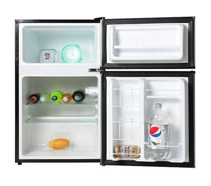 A Great College Idea For Students   Midea College Fridge With Freezer   3.1  Cu Ft Part 79