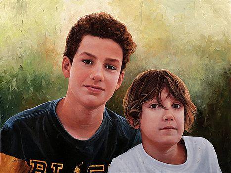 Due Ragazzi by Guido Borelli
