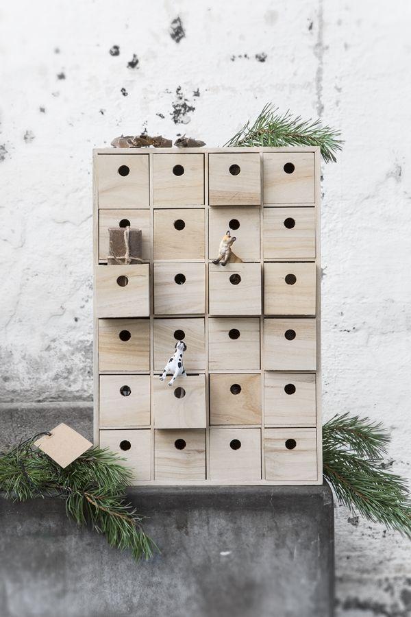 mini box advent calendar idea
