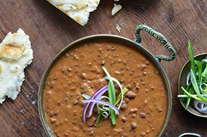 Dal Makhani (Indian Butter Lentils) from An Edible Mosaic