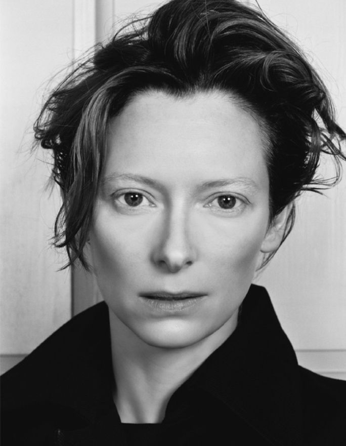 Tilda Swinton..she is the woman of my dreams...and I didn't even know I had girl dreams. I'd totally gay marry her and live a life of bliss.
