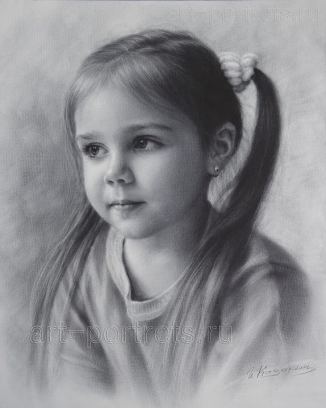 Drawing portraits portrait drawing of a little girl by dry brush discover the secrets of drawing realistic pencil portraits let me show you how you too