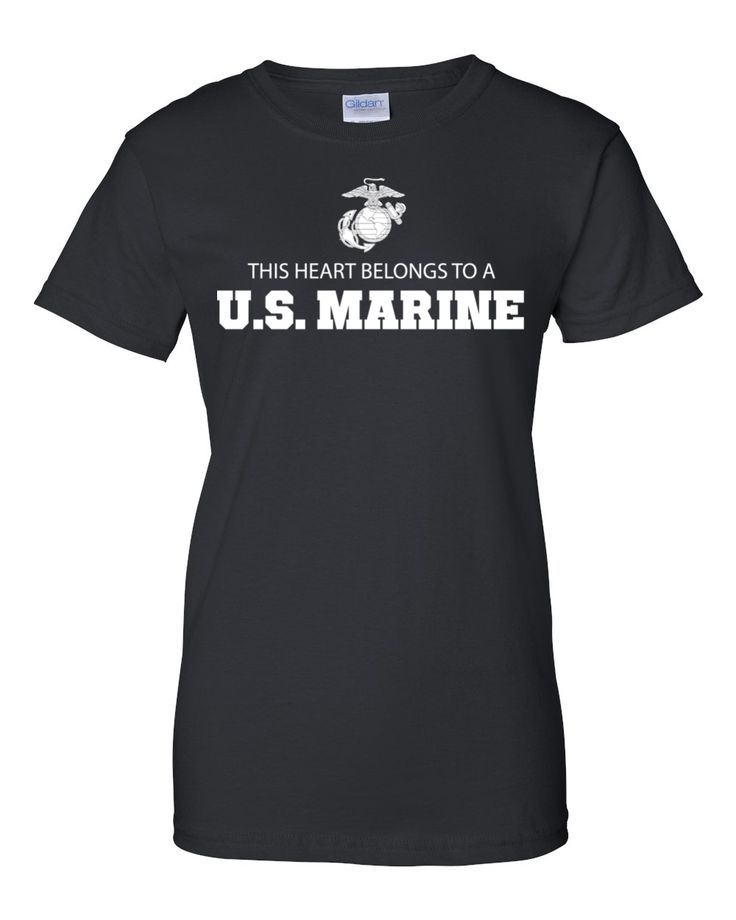 This Heart Belongs To A U.S. Marine