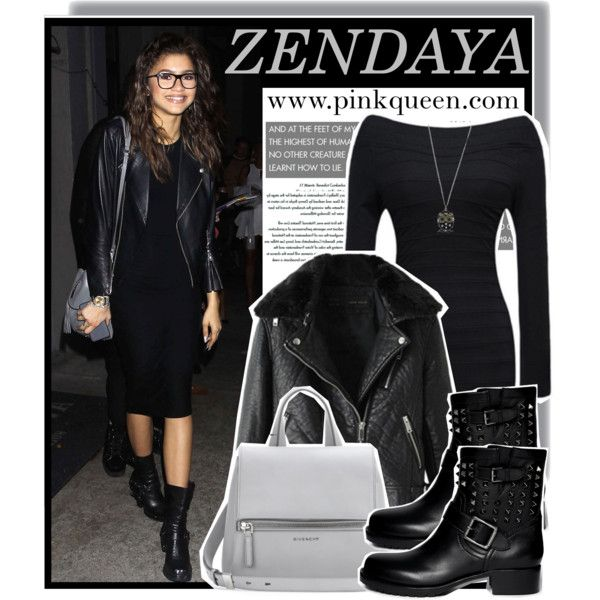 Zendaya out in Hollywood - pinkqueen.com by anne-mclayne on Polyvore featuring Valentino and Givenchy