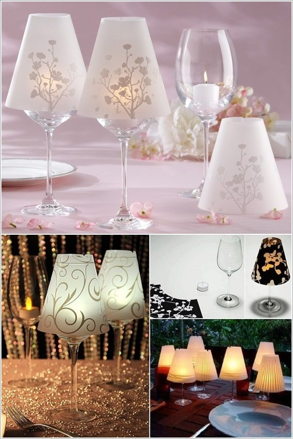 Amazing Interior Design 10 Awesome Craft and Decoration Ideas Using Wine Glasses